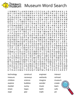 Museum Word Search