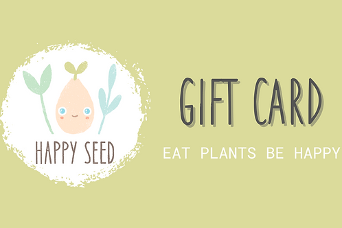 Happy Seed eGift Card
