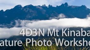 4 Day 3 Night Borneo-Mount Kinabalu Nature Photography Workshop