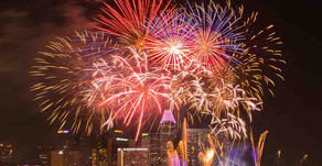 Singapore Celebrates 47th National Day with fireworks