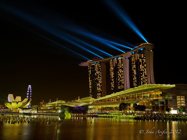 Singapore Marina Bay Sands New Year 2012