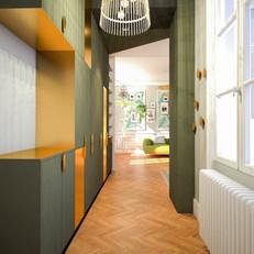 Appartement, Paris, 2019