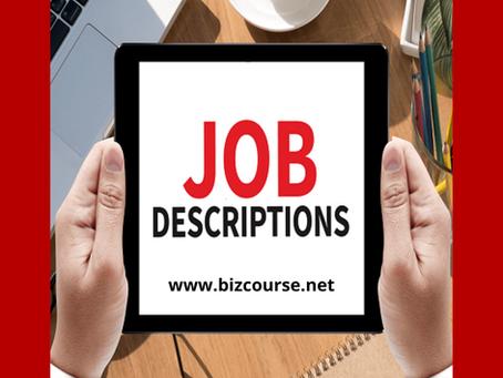 Business English - Talk About Job Responsibilities