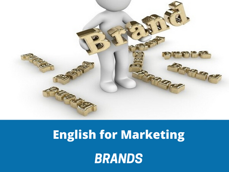 English for marketing - Brands