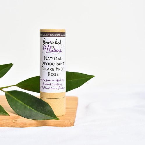 Bicarb free Deodorant Stick 40g Rose