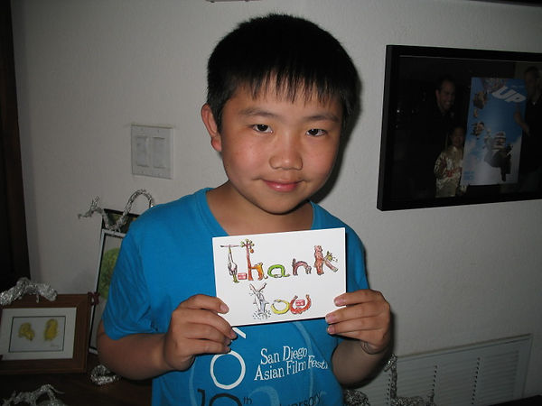 Perry Chen with Thank You card 2011.jpg