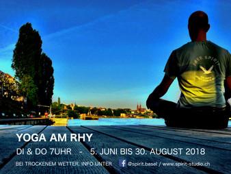 Yoga am Rhy  /  JUN-AUG 2018