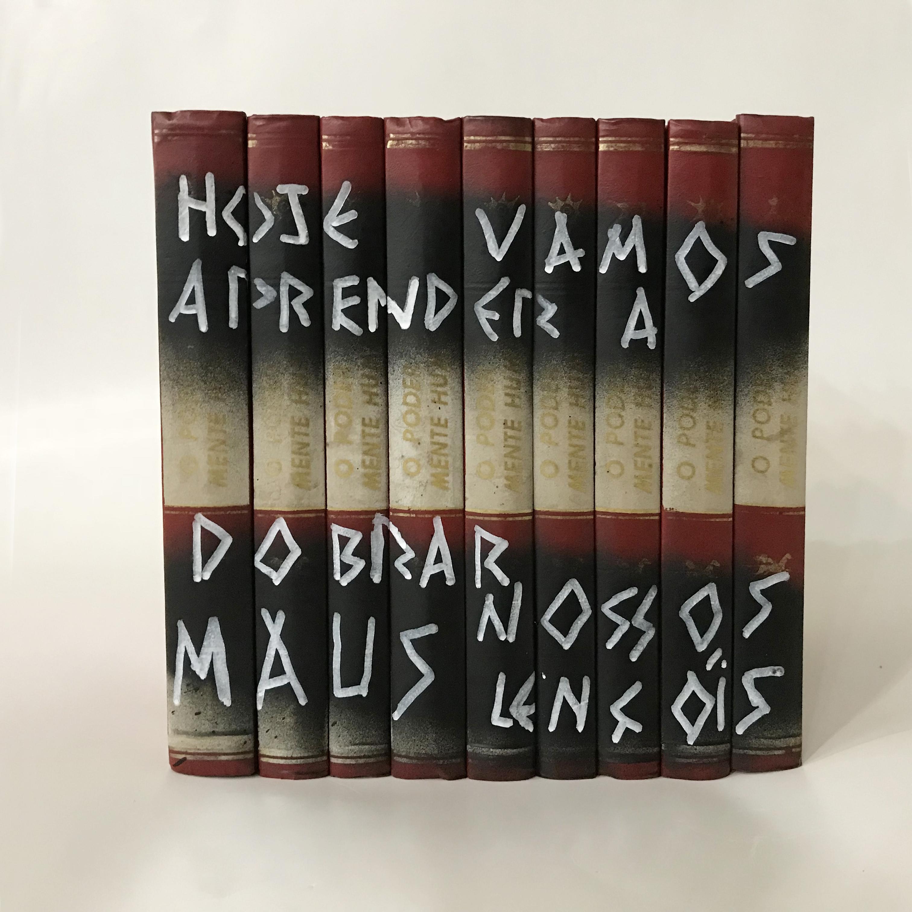 Livros da familia da artista