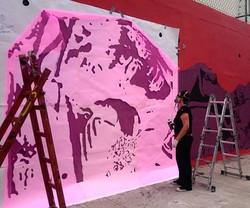 Stencil Pink