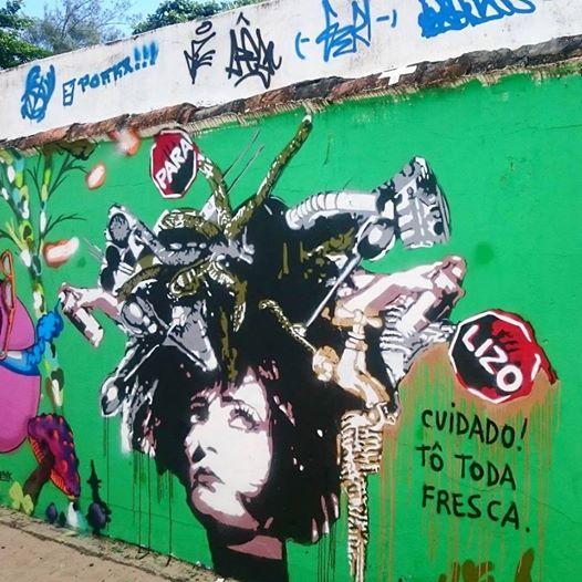 Siouxisie Medusa Urbana - Búzios RJ