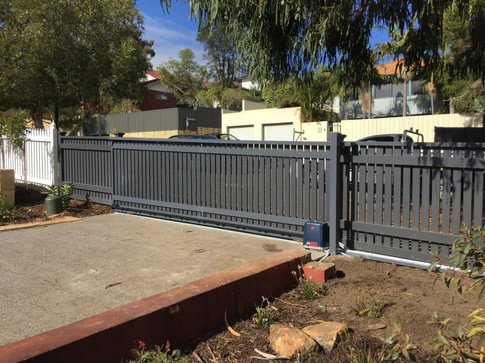 Automated Fence and Gate
