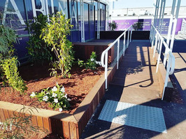 Shelter, Decking and Ramp