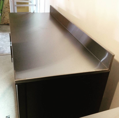 Stainless Bar Bench