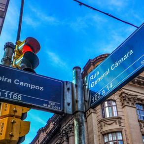 Os antigos nomes das atuais ruas