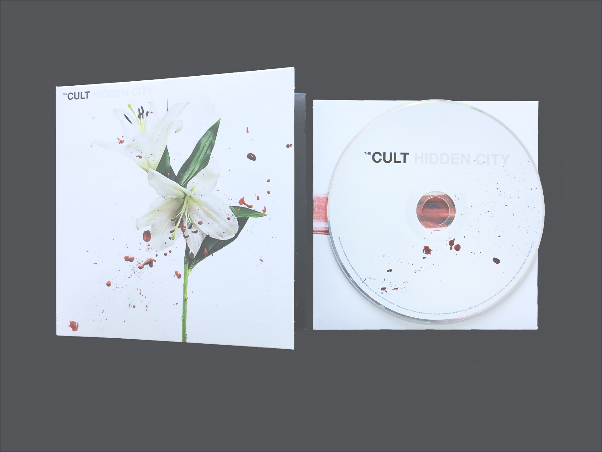 The Cult - Hidden City CD