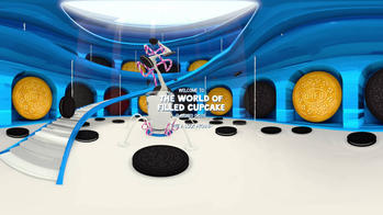 Discover the 360° world that inspired Filled Cupcake Flavored Oreo Cookies