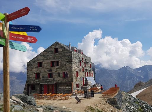 Britannia Hütte, SAC-CAS, Saas-Fee, Valais, Switzerland