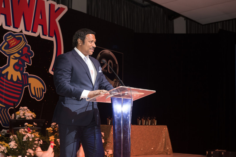 Arawak Hatchery Manager - Roger Dhanoolal