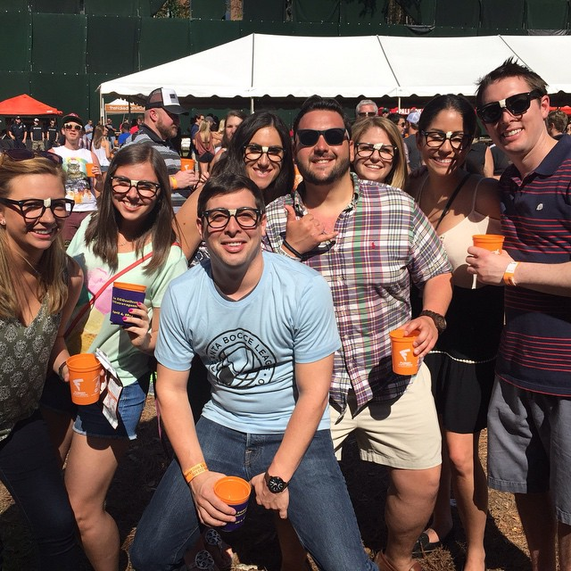 Instagram - #atlantabarcrawls crew having a blast @atlantabeerfestivals @hogsandhops with @thegeeksb