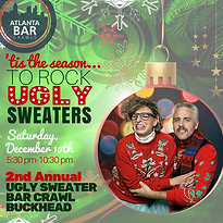 Ugly Sweater Bar Crawl, Ugly Sweater Pub Crawl, Atlanta Bar Crawls, Atlanta Pub Crawls, Atlanta Bar Tours