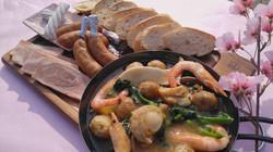 春野菜と海鮮アヒージョBBQセット
