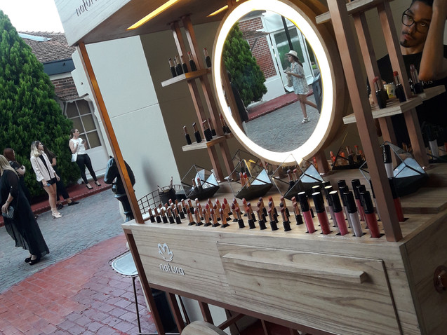 Natura - Brand Activation for Fashion week