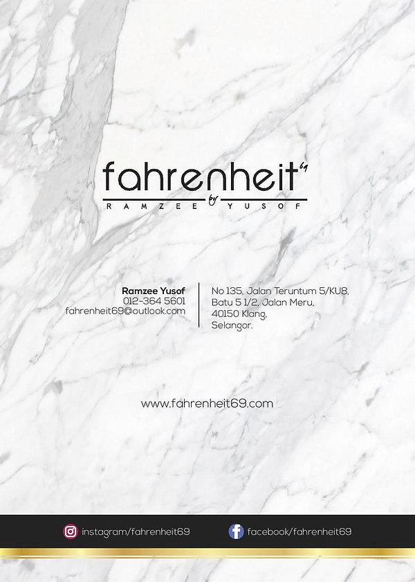 Fahrenheit69 Package - GLASSHOUSE SEPUTE