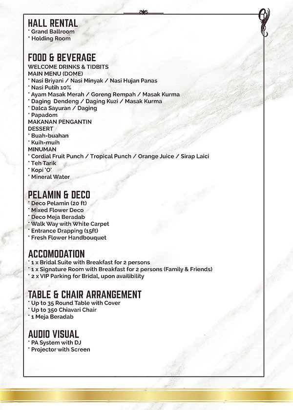 Fahrenheit69 Package - ZENITH HOTEL-page