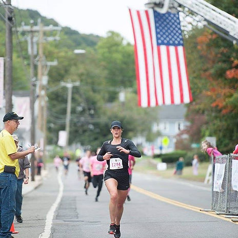 A shot shared with me from the finish li