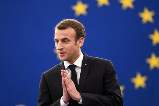 New optimism takes hold in Europe, lead by Macron