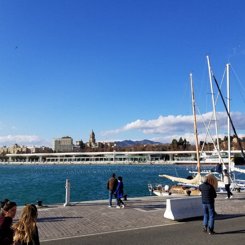 Malaga, Spain port