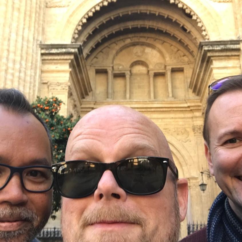 Frank, Thomas, and I