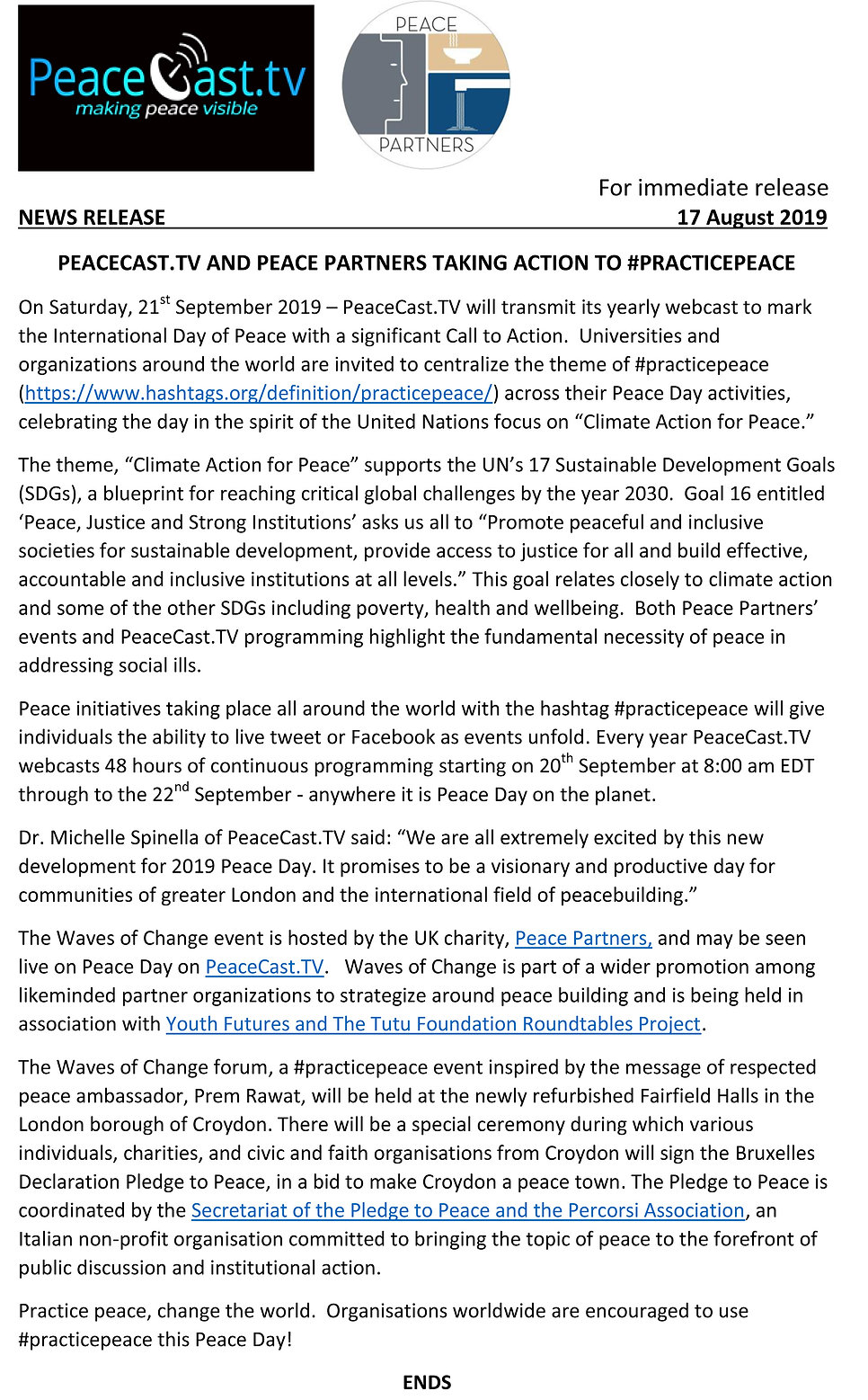 Peacecast TV and PP News Release a.jpg