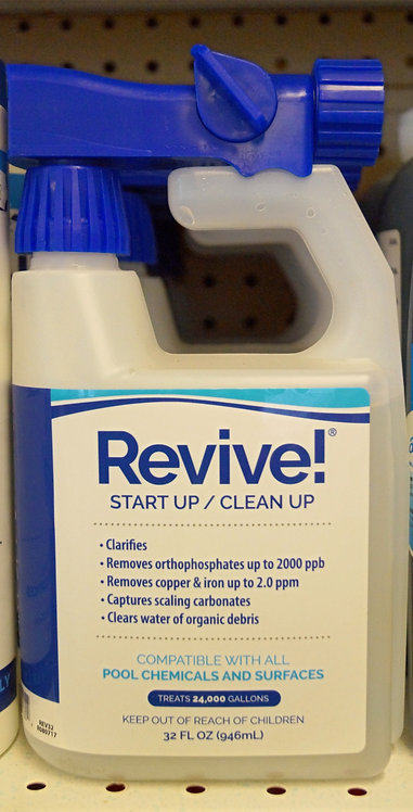 Revive! Start Up/Clean Up