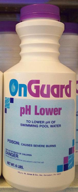 pH Lower 6lb