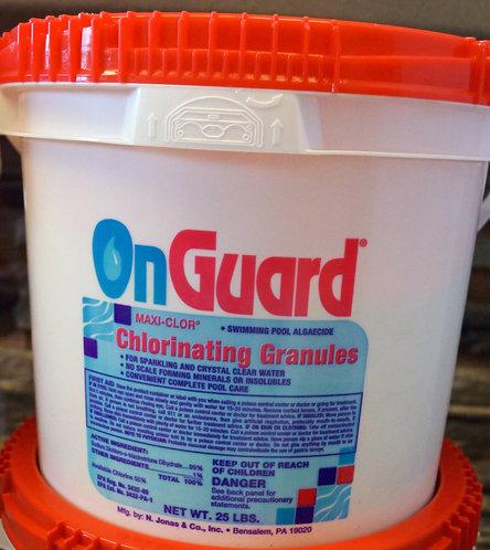 Chlorine Granules 25lb