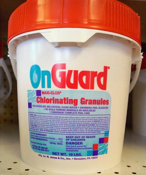 Chlorine Granules 10lb