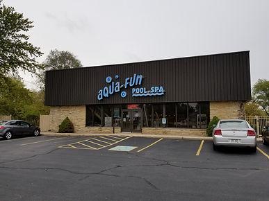 Aqua Fu Pools Storefront