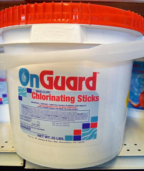 Chlorine Sticks 25lb