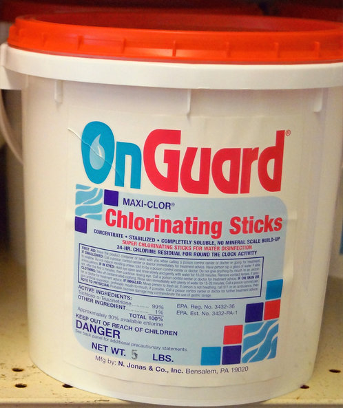 Chlorine Sticks 5lb