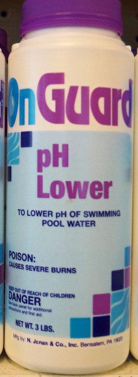 pH Lower 3lb