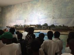 Visite des enfants du Samu social
