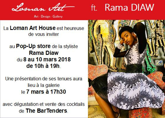 Rama Diaw - Collection Printemps 2018