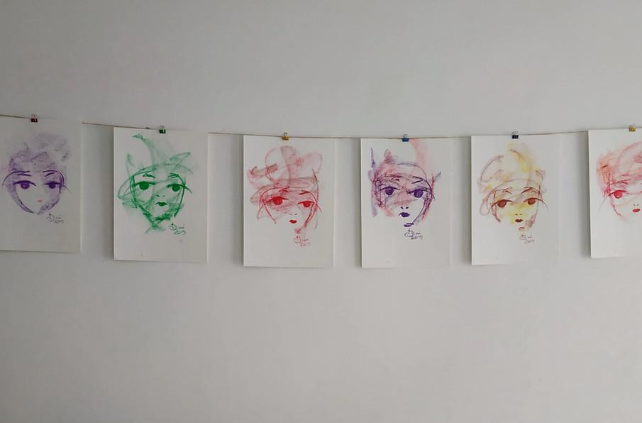 Misa - Dessin pastel
