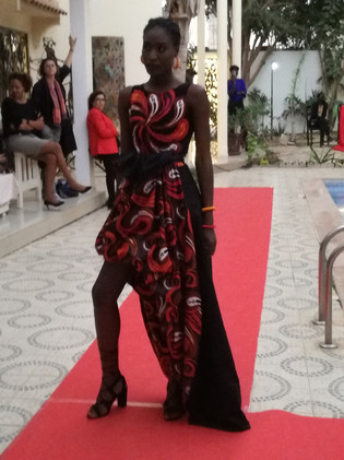 Rama Diaw - Fashion Show Printemps 2018