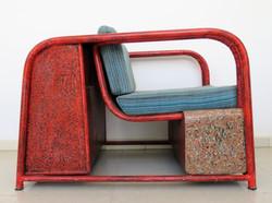 Bookcase armchair