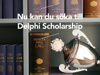 Delphi Scholarship 2017