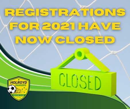 Registrations for 2021 Closed