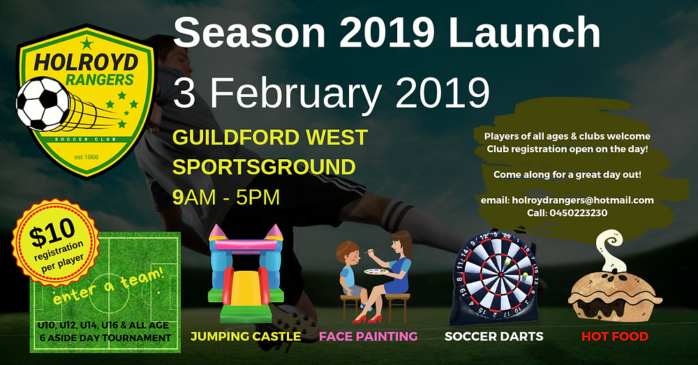 Join us at our season launch!