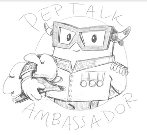 PepTalk Ambassador Logo